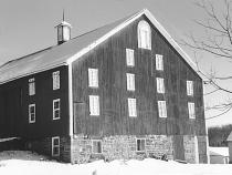 Daniel Lady Barn in the 1950s.