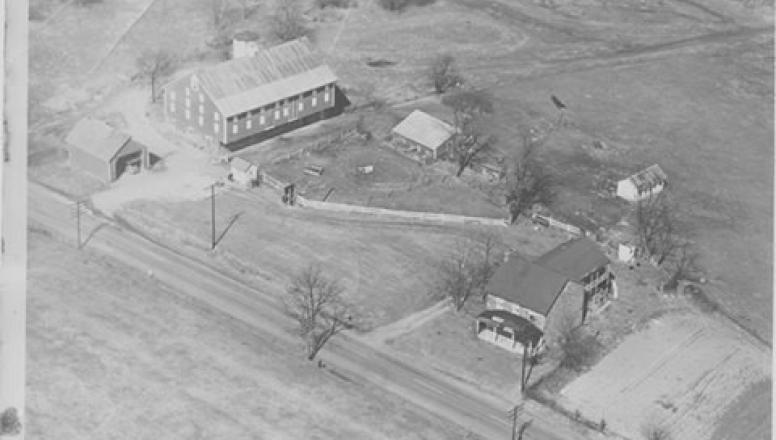 The Historic Daniel Lady Farm in the 1920's